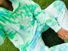 Load image into Gallery viewer, Key Lime Pie Tie Dye Sweat Set