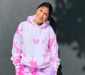 Open image in slideshow, Barbie Pink Tie Dye Hoodie