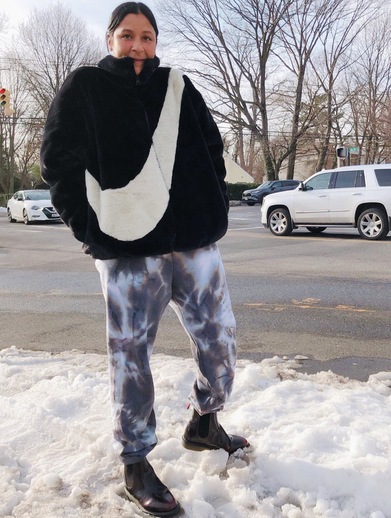 Cookies N Cream Tie Dye Sweatpants