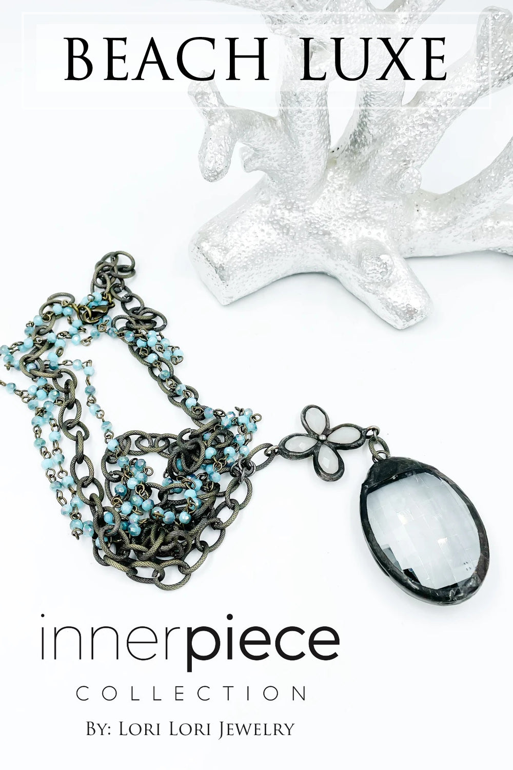 Beach Luxe Vintage Assemblage Necklace