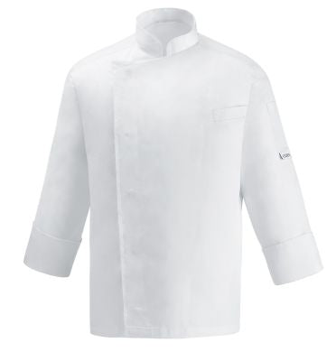 Lightweight Chef Italian White  Jacket Long Sleeve
