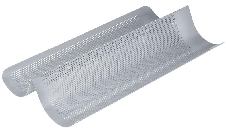 Non-Stick Perforated French Bread Pan