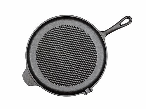 Cast Iron Round Grill Pan