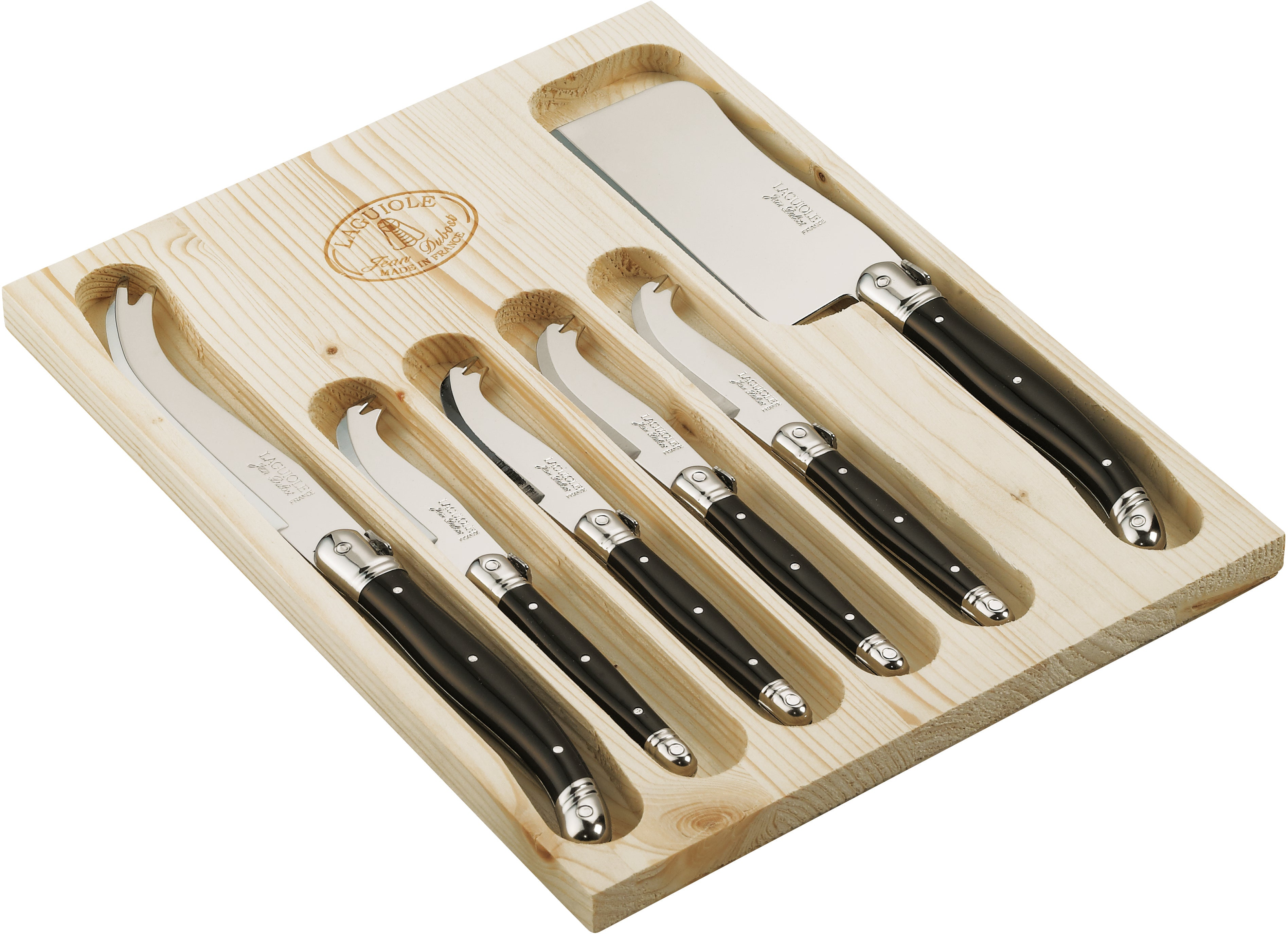 Laguiole Cheese Knife Set 6 Piece