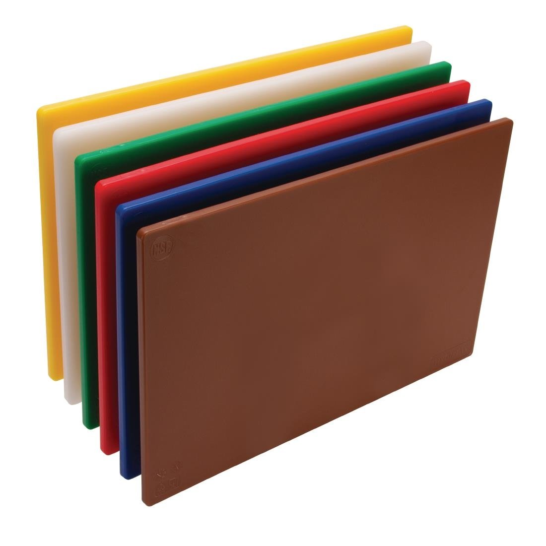 Set of 6 Colour Coded Chopping Boards