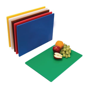 Colour coded chopping boards