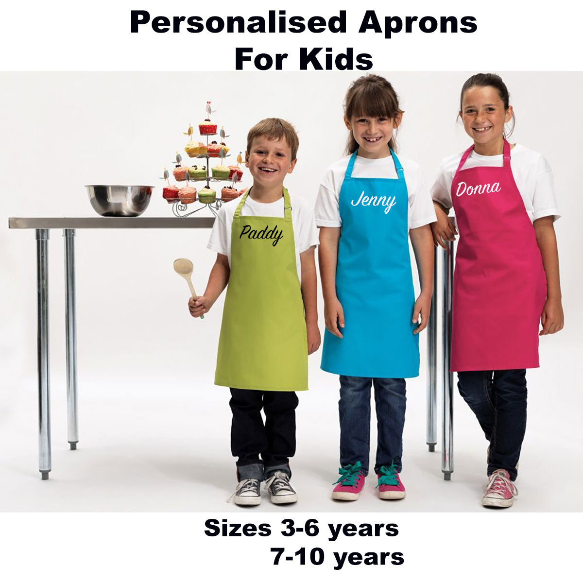 Kids Personalised Aprons