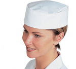 Load image into Gallery viewer, chef white skullcap