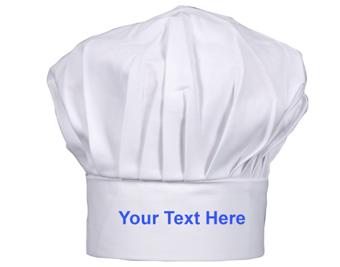 Personalised Chefs Hat