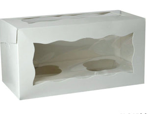 2 Cup Cake / Muffin Display Box