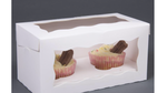 Load image into Gallery viewer, 2 Cup Cake / Muffin Display Box