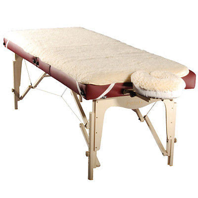 Standard Massage Table Fleece Pad Set