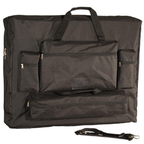 "32"" Deluxe Black Universal Oversized Massage Table Carry Case"