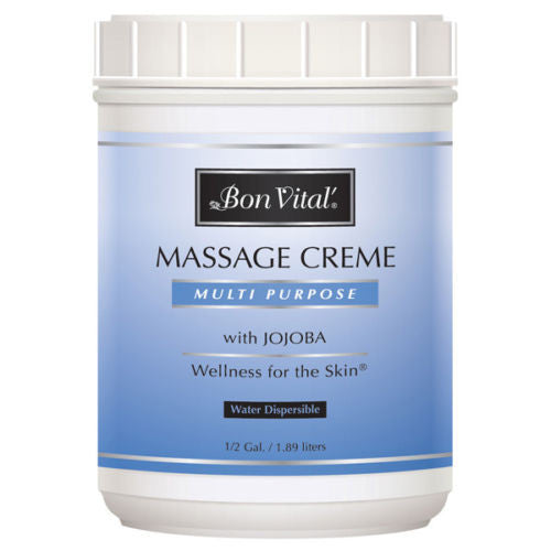 Bon Vital Multi Purpose Massage Creme - 1/2 Gallon