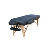 "Camelot Massage Table with 3"" High Density Pad Black"
