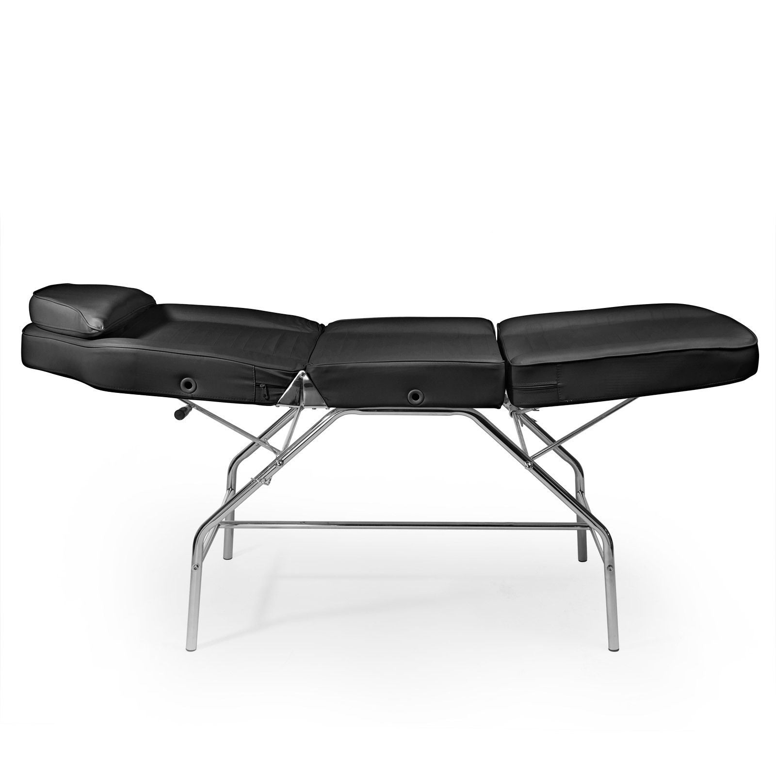 Facial Salon Bed with Stool Serves Two Purposes in e