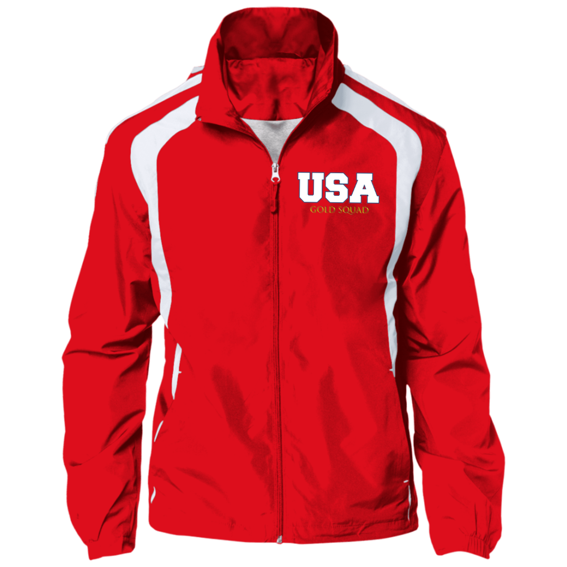 Mens USA Gold Squad Jersey-Lined Jacket