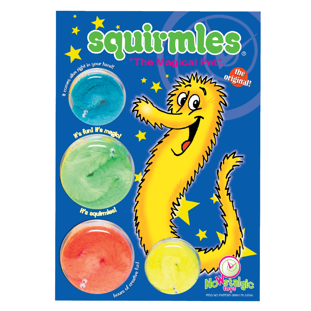 Squirmles: 4-Pack Playhouse Limited Edition