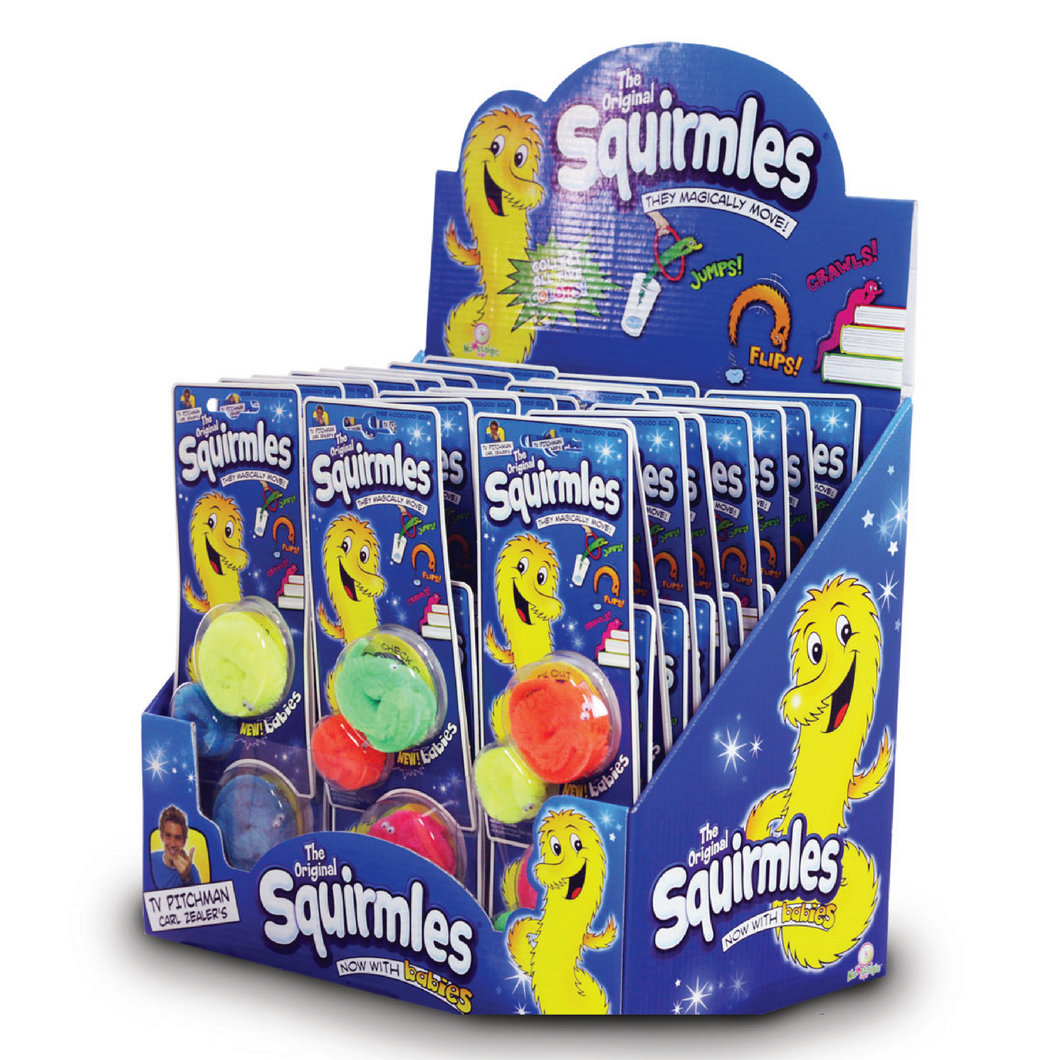 Squirmles Party Display
