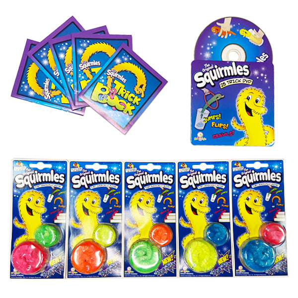 Sparkle Squirmles 5 Pack Special Edition!