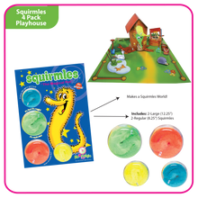 Load image into Gallery viewer, Squirmles: 4-Pack Playhouse Limited Edition