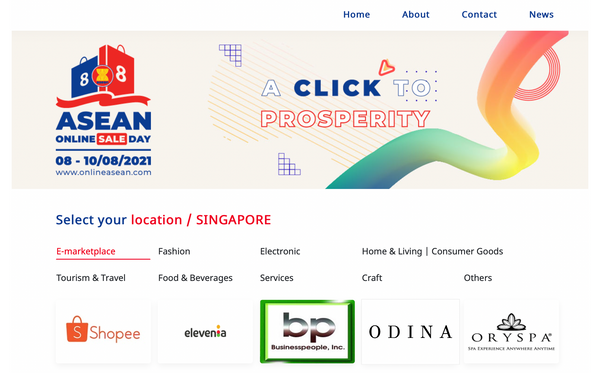 ODINA at ASEAN ONLINE DAY SALE 2021