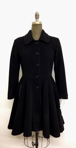 Princess Coat - Cashmere & Wool Blend
