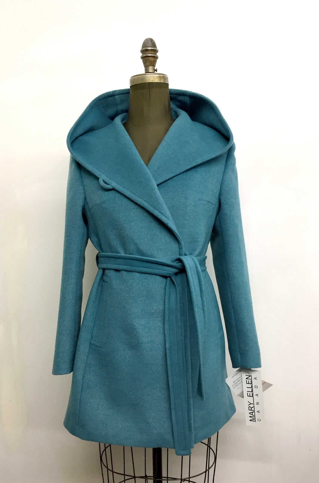 Tiffany Coat - 100% Pure Virgin Wool - Boiled Wool
