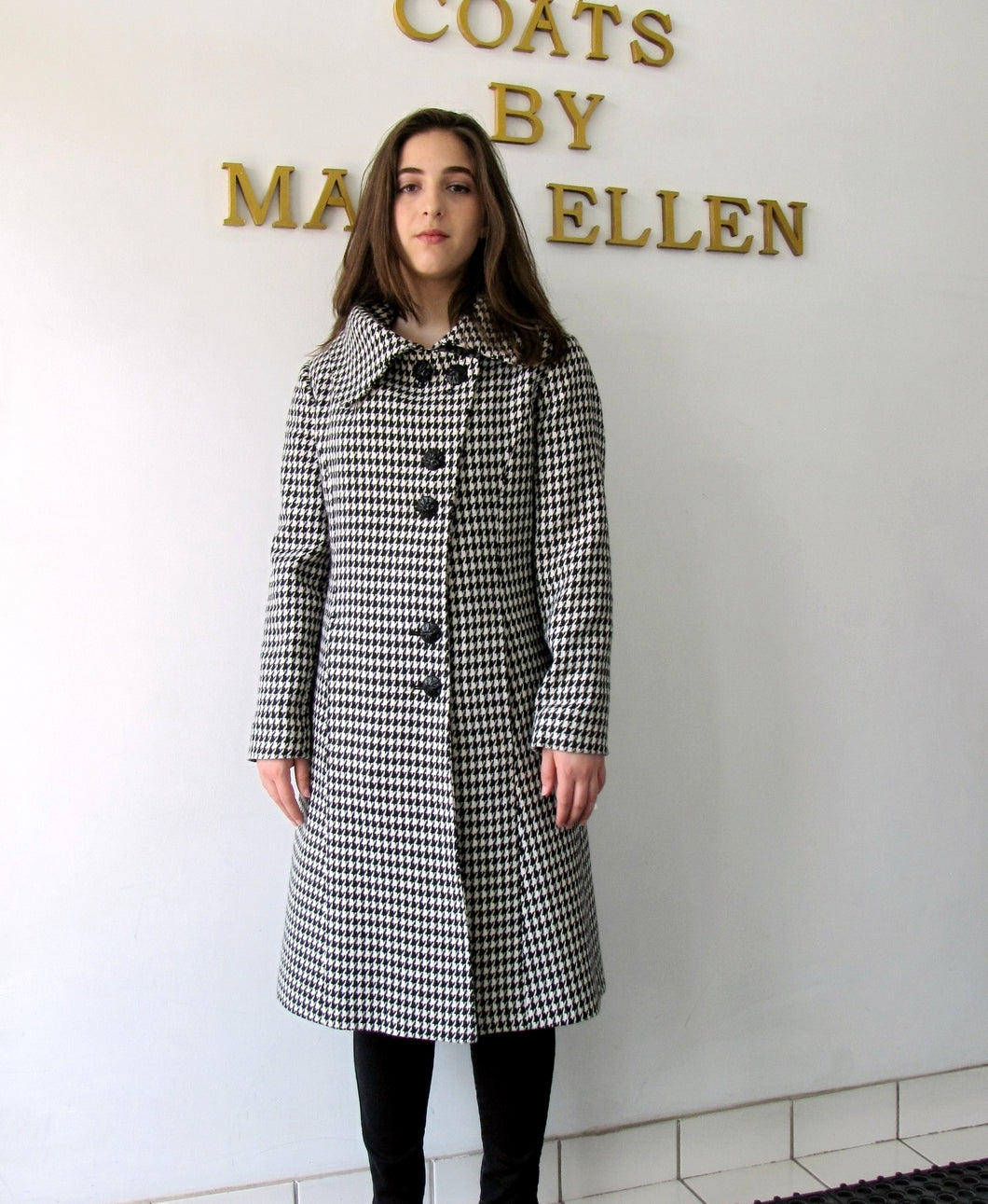 Audrey Coat - 100% Merino Wool