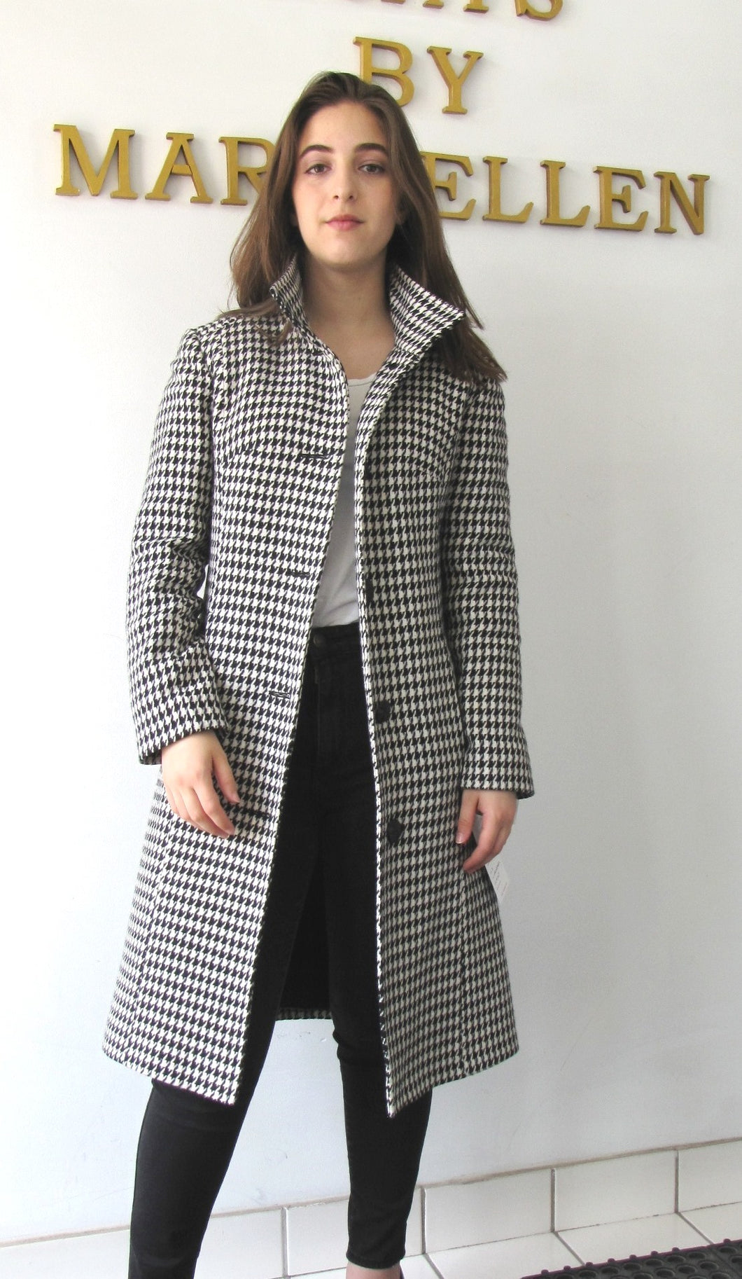 Brittney Coat - 100% Merino Wool
