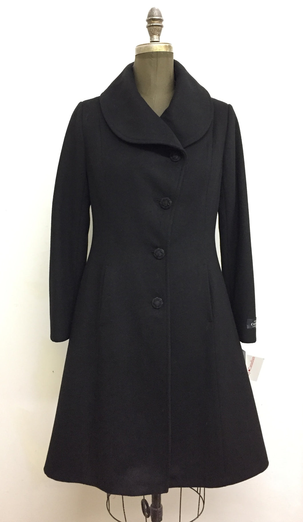 Elisabeth Fit & Flair Coat- Cashmere & Wool Blend