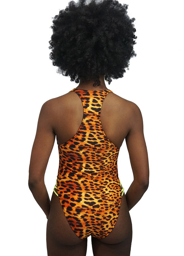 Jag V Cut One Piece Swimsuit