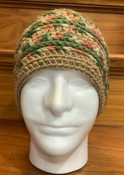 Striped Men's Beanie