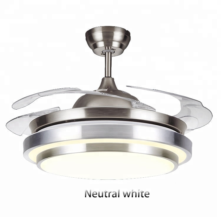 42 Inches 68w Invisible Bladeless Fan With Remote Control Led Ceiling