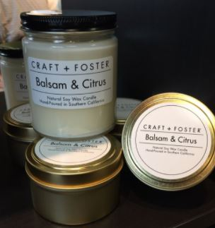 CRAFT + FOSTER BALSAM & CITRUS CANDLE