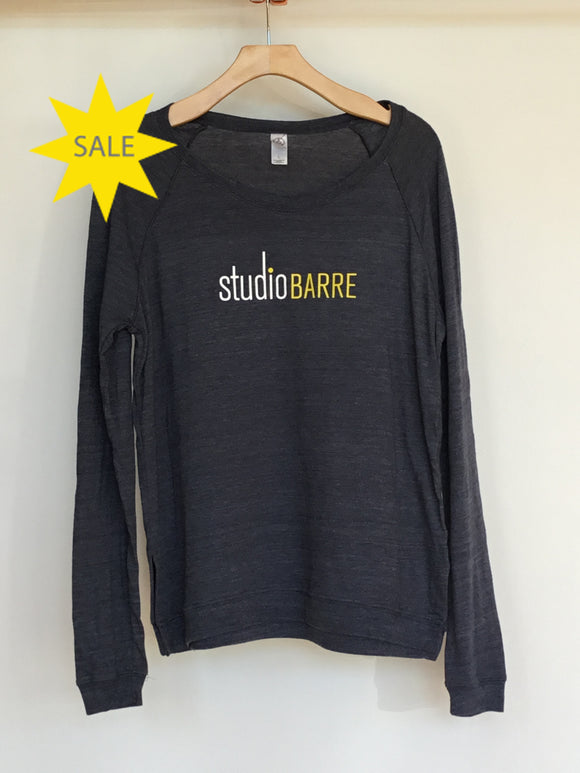 SB Grey/Blue Long Sleeve Branded