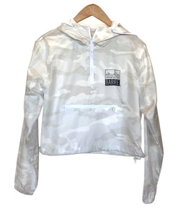 SB White Camo WIndbreaker
