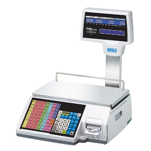CAS CL5500R-60NE Label Printing Scale