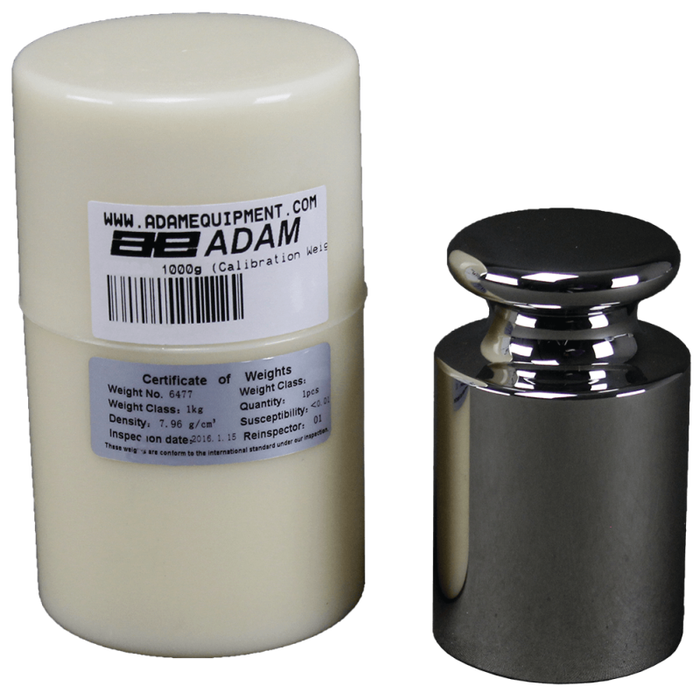 Adam Equipment ASTM 2 - 1000g ASTM Weights