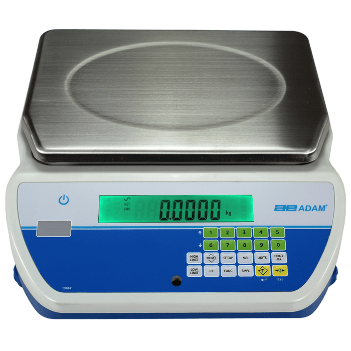 Adam Equipment CKT 8H Cruiser Bench Checkweighing Scales, 8000 g Capacity, 0.1 g Readability