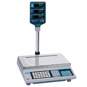 CAS AP1-15EX Price Computing Scale, 15000 g Capacity, 5 g Readability