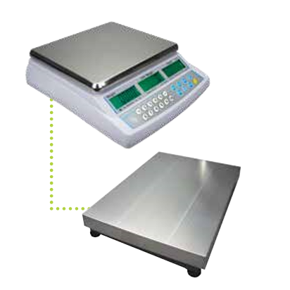 Adam Equipment 70a-1320a + Counting Scales with Remote Platform, 32000 g Capacity, 1 g Readability
