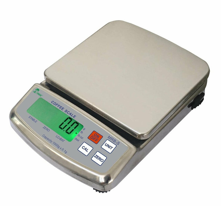 Tree MRB-S 5000 Stainless Steel Barista Coffee Scale, 5000 g x 1 g