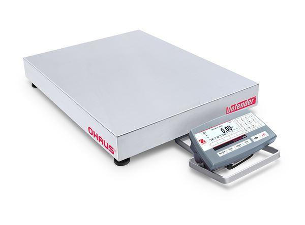 Ohaus D52P250RTX5 DEFENDER 5000 - D52 Bench Scale, 500 g Capacity,  g Readability