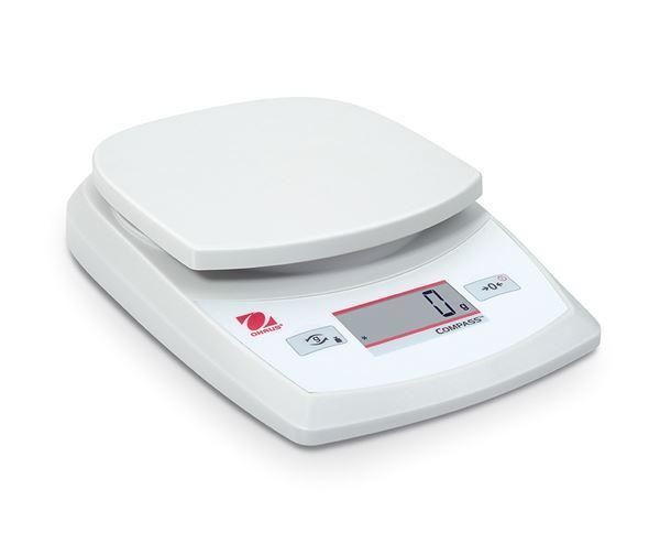Ohaus CR2200 Quality Portable Electronic Scales, 2200 g Capacity,  g Readability