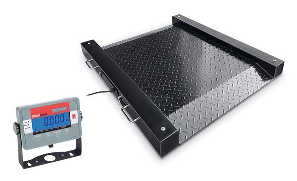 Ohaus DFD32M1000ES DEFENDER® DRUM SCALE - DFD32M Floor Scale, 1000 g Capacity, g Readability