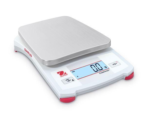 Ohaus CX621 COMPASS CX Energy-Efficient Portable Scale Suitable for Workplace and in-the-Field Weighing, 620 g Capacity,  g Readability