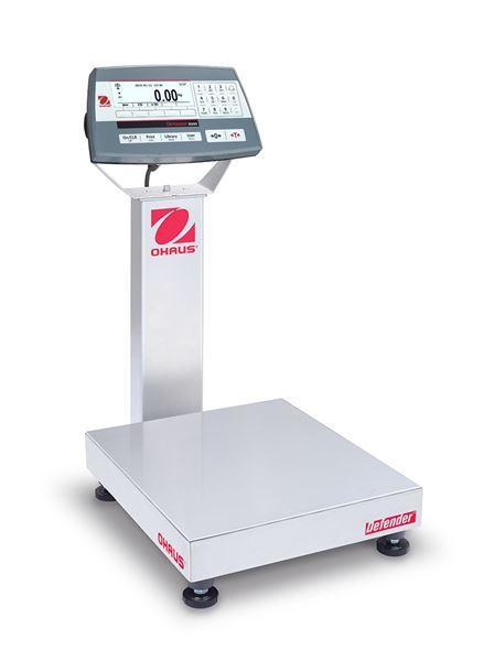 Ohaus D52P12RTR1 DEFENDER 5000 - D52 Bench Scale, 25 g Capacity,  g Readability