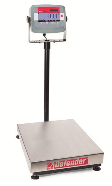 Ohaus D31P15BR DEFENDER 3000 Bench Scale, 33 g Capacity,  g Readability