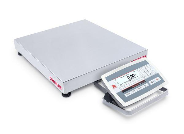 Ohaus D52XW125WQL5 DEFENDER 5000 - D52 Bench Scale, 250 g Capacity,  g Readability